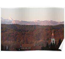 Autumn meets winter Poster