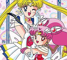 Sailor Moon And Chibi Moon by Rickykun