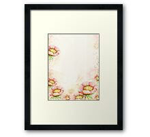 Flourishes No.11 Framed Print