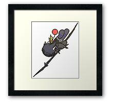 Dark Knight Mogil Harvey Framed Print