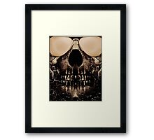 Be Cool Even After Death Framed Print