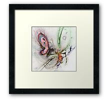 Galaxies Framed Print