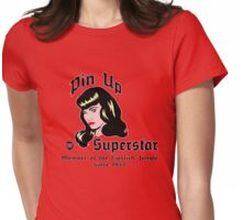 Pin Up Superstar Womens Fitted T-Shirt