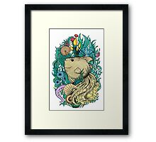 Fantasy fish Framed Print