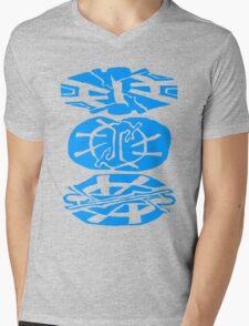 Alien Tribal Marks Mens V-Neck T-Shirt