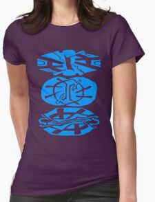 Alien Tribal Marks Womens Fitted T-Shirt