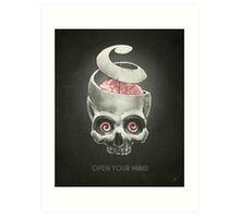 Open Your Mind! Art Print