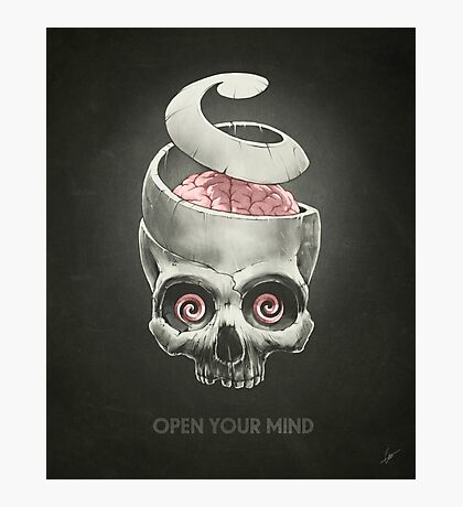 Open Your Mind! Photographic Print
