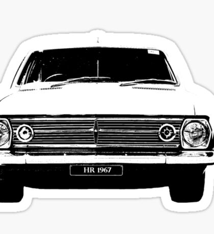 1967 HR Holden Sticker