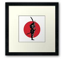 Bounty Hunter Samurai Framed Print