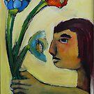 Flower Talk by Saren Dobkins
