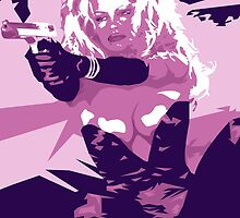 Barbwire - Pamela Anderson by EJTees