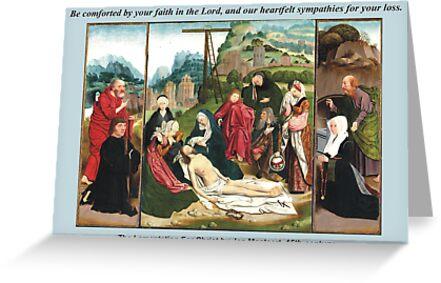 Jan Mostaert's The Lamentation For Christ by Harveylee