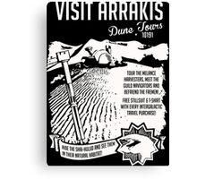 Visit Arrakis Dune Tours Canvas Print