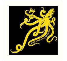 Asha Kraken Art Print