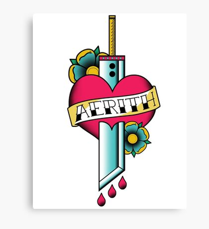 Aerith Forever Canvas Print
