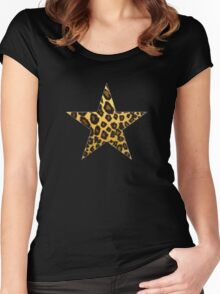 Wild Star Women's Fitted Scoop T-Shirt