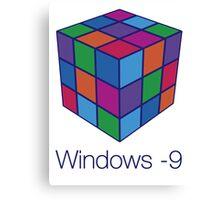 Windows -9 Canvas Print