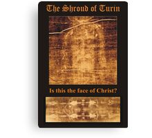 Reecy Aresty's photo of The Shroud of Turin Canvas Print