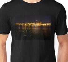 Valletta, Malta Night Magic Unisex T-Shirt