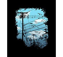 Electric Music City Photographic Print