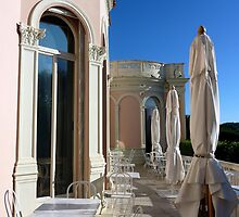 Terrace Of The Villa by Fara