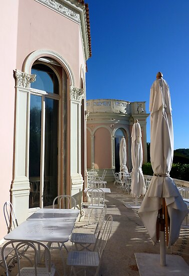 Terrace Of The Villa by Fara