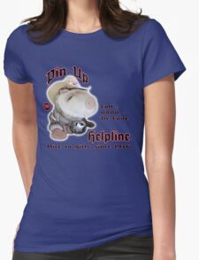Pin-Up Helpline Dr Love Womens Fitted T-Shirt