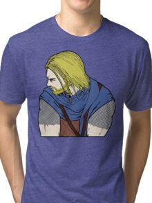 Sovngarde Awaits Tri-blend T-Shirt