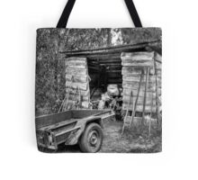 Pops Tractor. Tote Bag
