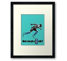 Funny Oscar Pistorius Framed Print