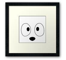 Gracious face Framed Print