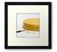 World cheese championships Framed Print