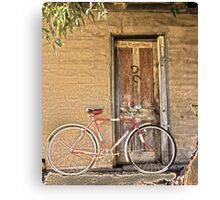 Man's Vintage Bicycle,  Canvas Print