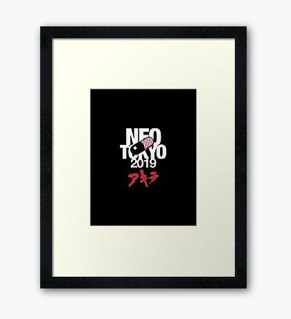 Akira - Neo Tokyo Framed Print