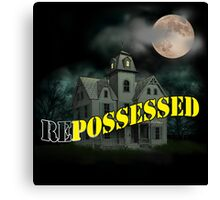 Haunted Mansion - Repossessed Canvas Print