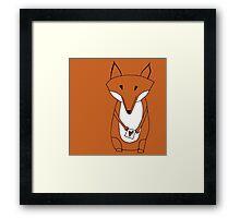 Mr. Fox Loveletter Framed Print