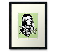 TARA MACLAY: Strong Like An Amazon Framed Print