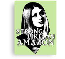 TARA MACLAY: Strong Like An Amazon Canvas Print
