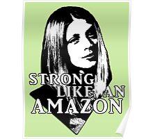 TARA MACLAY: Strong Like An Amazon Poster