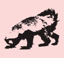 Honey Badger (black) Baby Tee