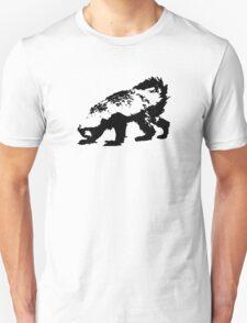 Honey Badger (black) Unisex T-Shirt