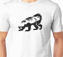 Honey Badger (black) Unisex T-Shirt