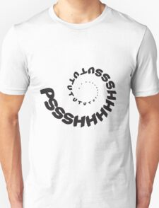 PSHHSUTUTU - Turbo Dose Boost Noise JDM Window Sticker / Tee - Black T-Shirt