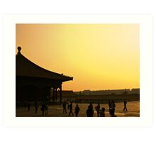 Forbidden City Art Print