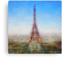 Average Eiffel Tower Canvas Print