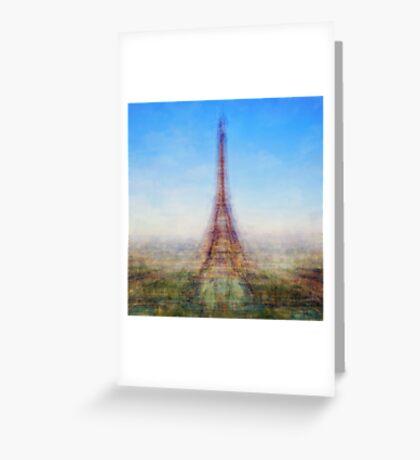 Average Eiffel Tower Greeting Card