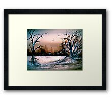 CIty Limits.. Framed Print