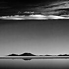 Salt Flats-Cloudscape by Carlos Restrepo