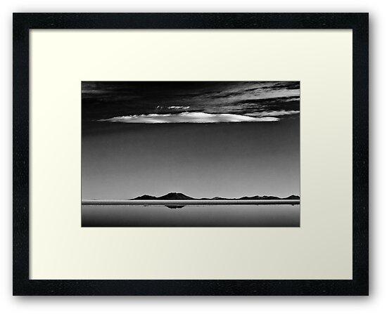 Salt Flats-Cloudscape by Carlos Restrepo